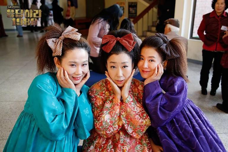 Lee Il-hwa, Ra Mi-ran, and Kim Sun-young (Reply 1988)