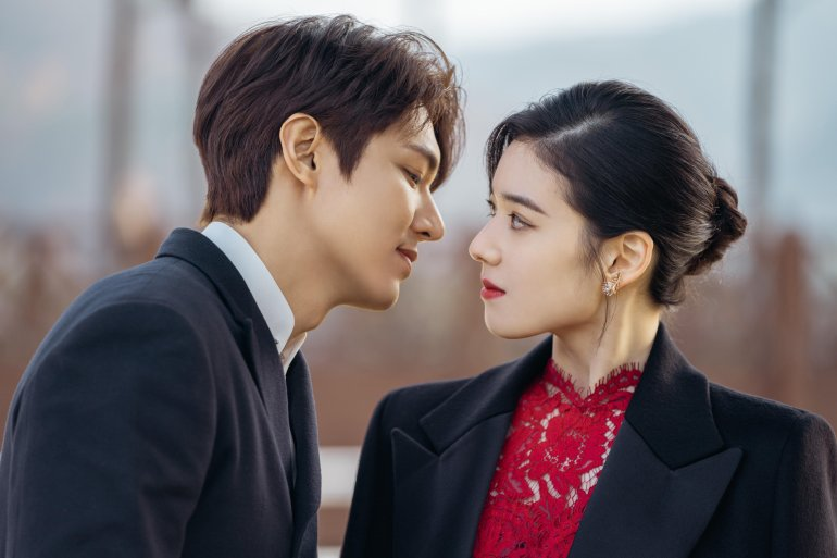 The King Eternal Monarch Lee Min ho Jung Eun Chae