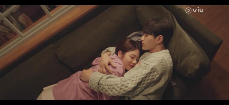 Shin Ye-eun Kim Myungsoo sweet moment